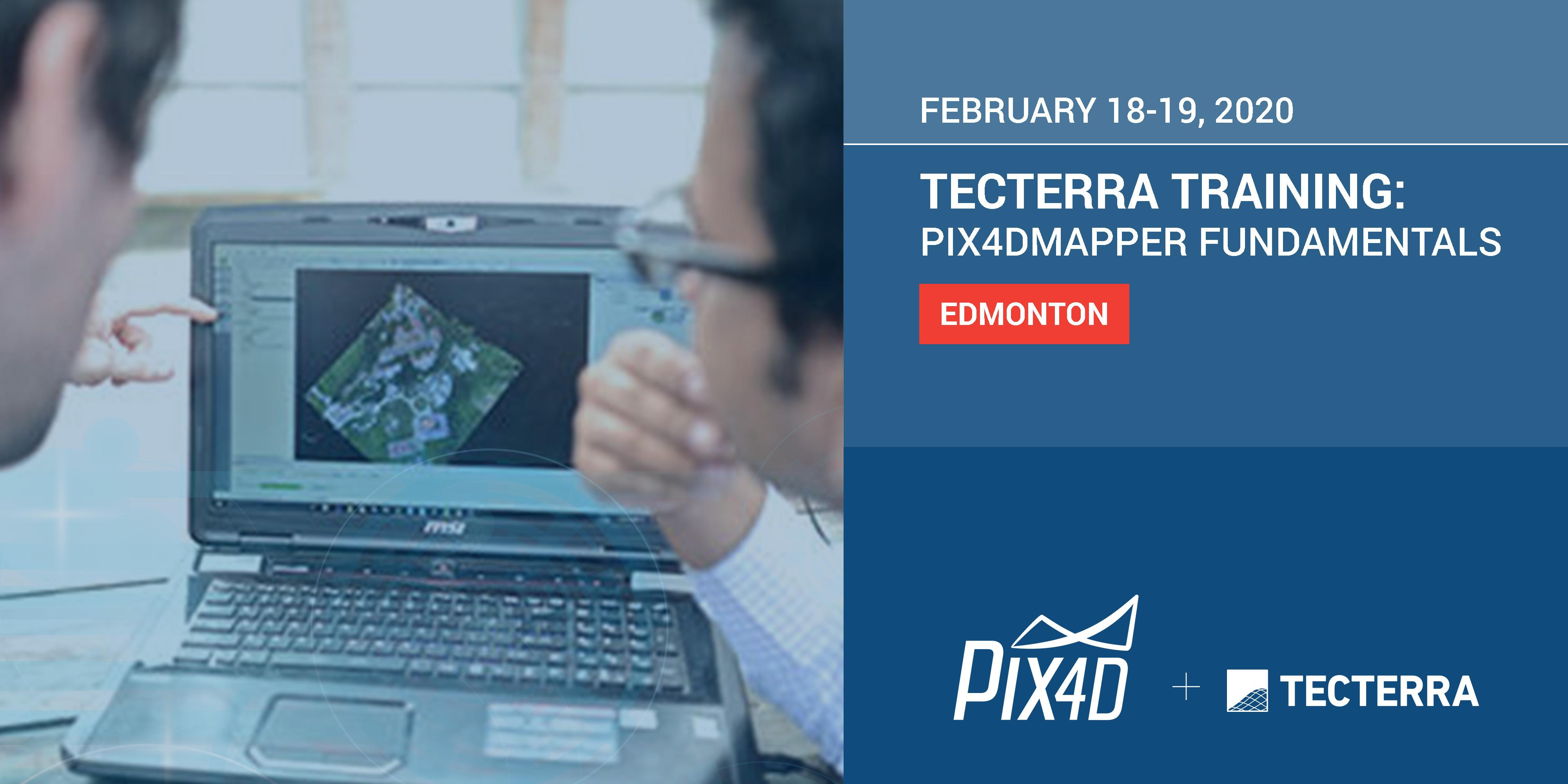 TECTERRA TRAINING: PIX4D User Workshop Edmonton