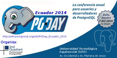 PGDay Ecuador 2014