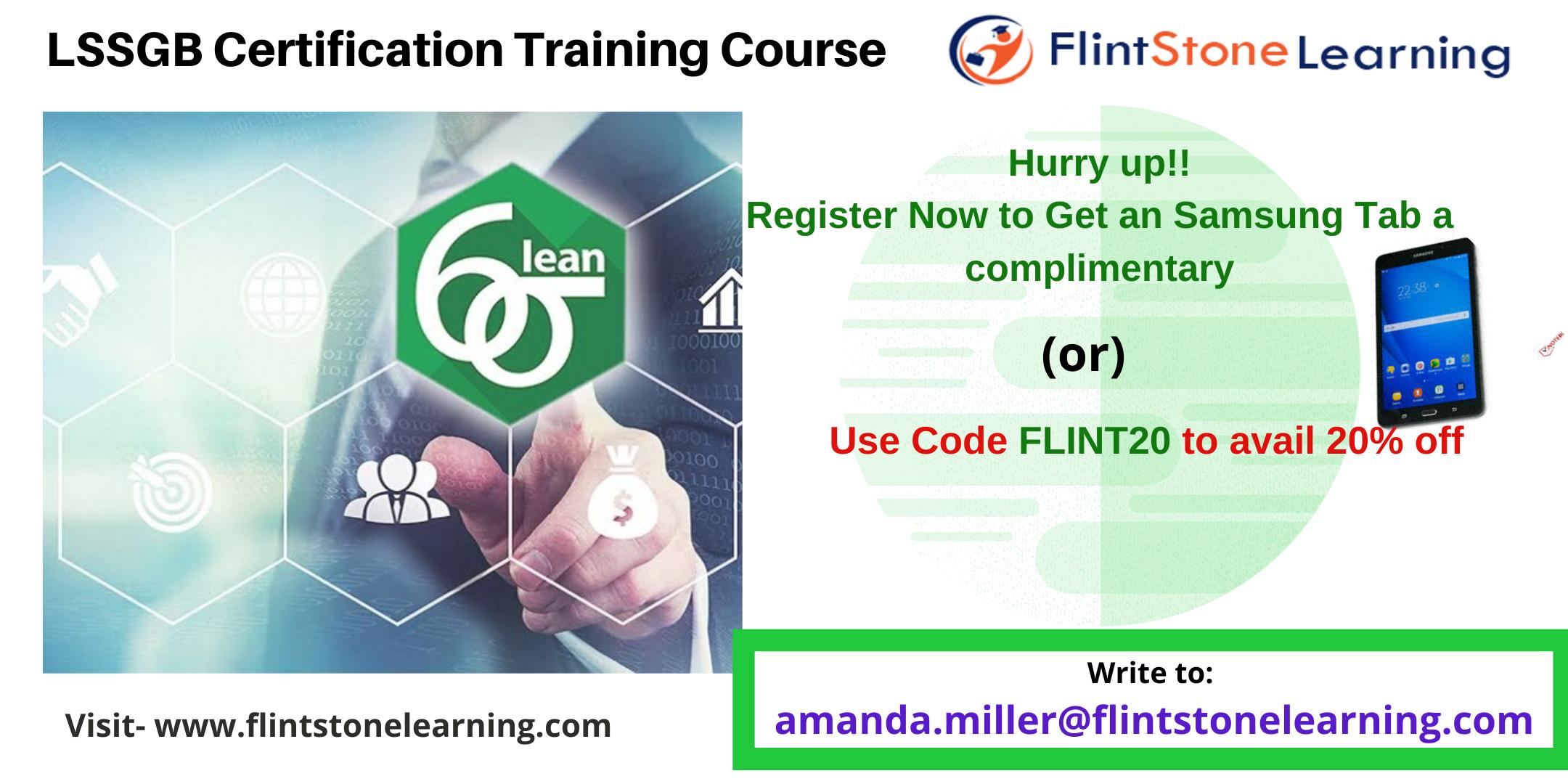 Lean Six Sigma Green Belt (LSSGB) Certification Course in Windsor, ON