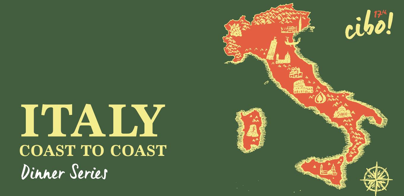 Italy Coast to Coast - Dinner Series