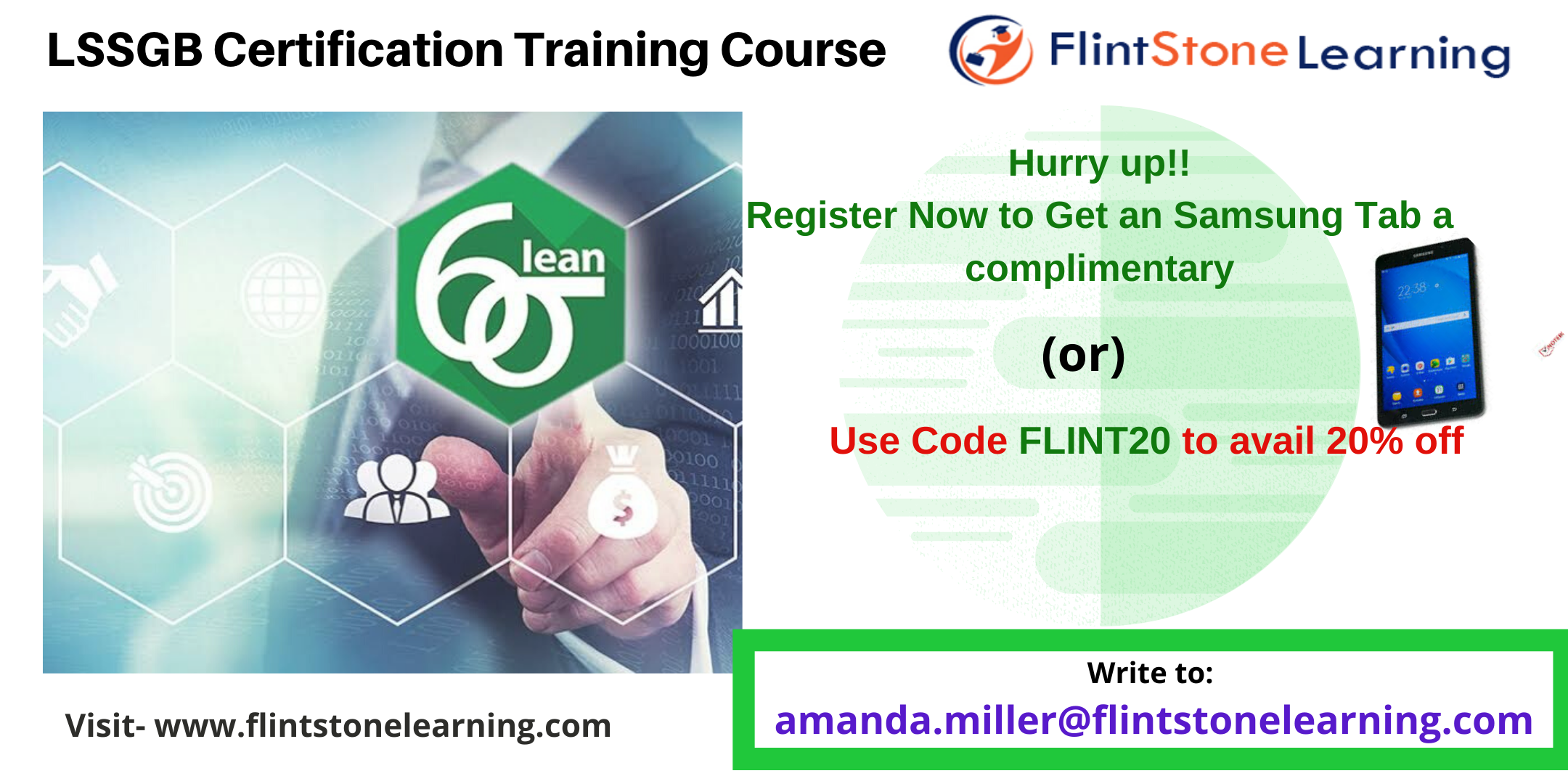 Lean Six Sigma Green Belt (LSSGB) Certification Course in Kelowna, BC