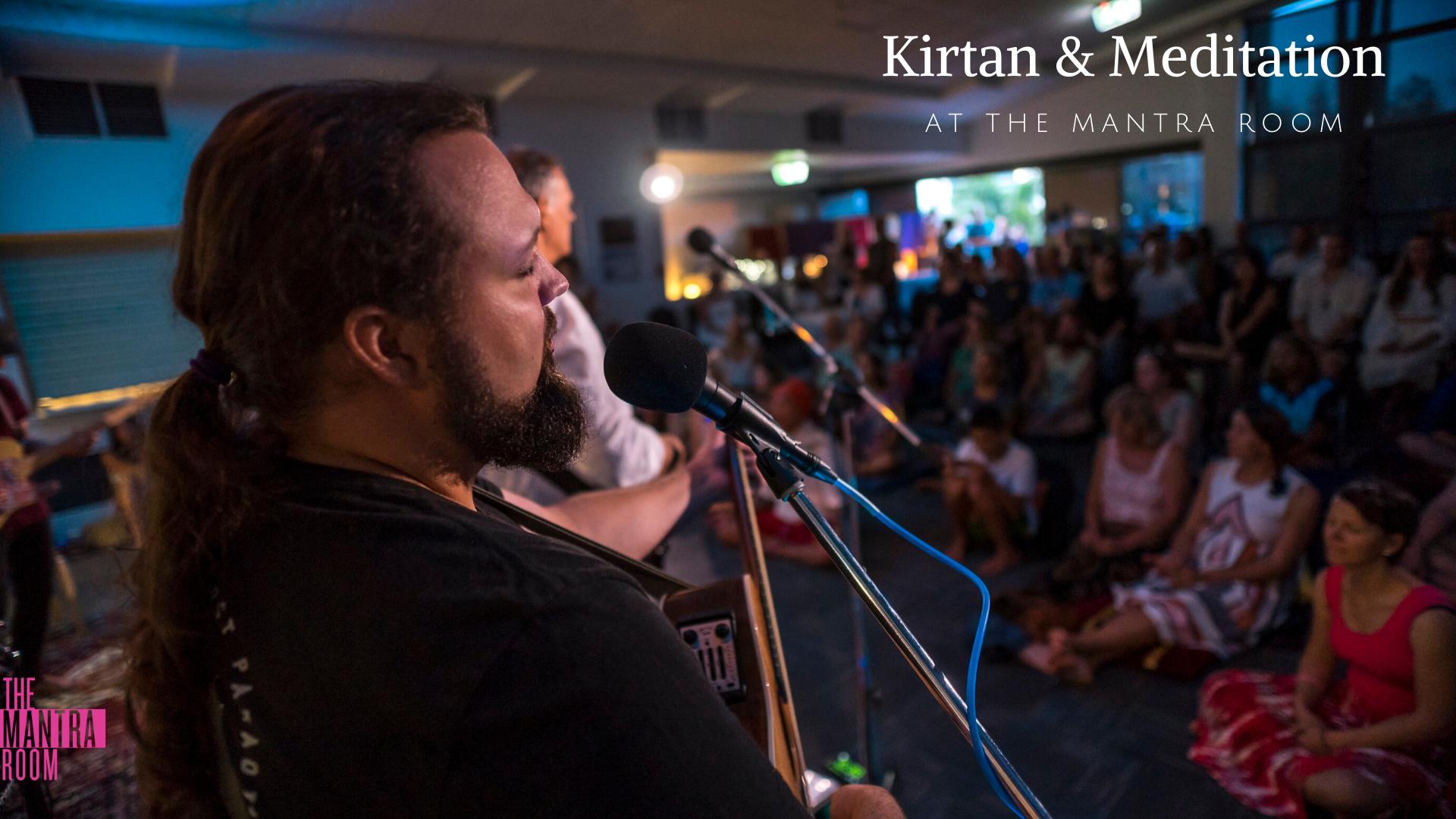 Kirtan & Meditation at The Mantra Room