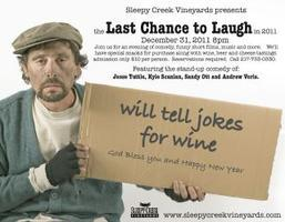 Last Chance to Laugh in 2012! New Year's Eve Party