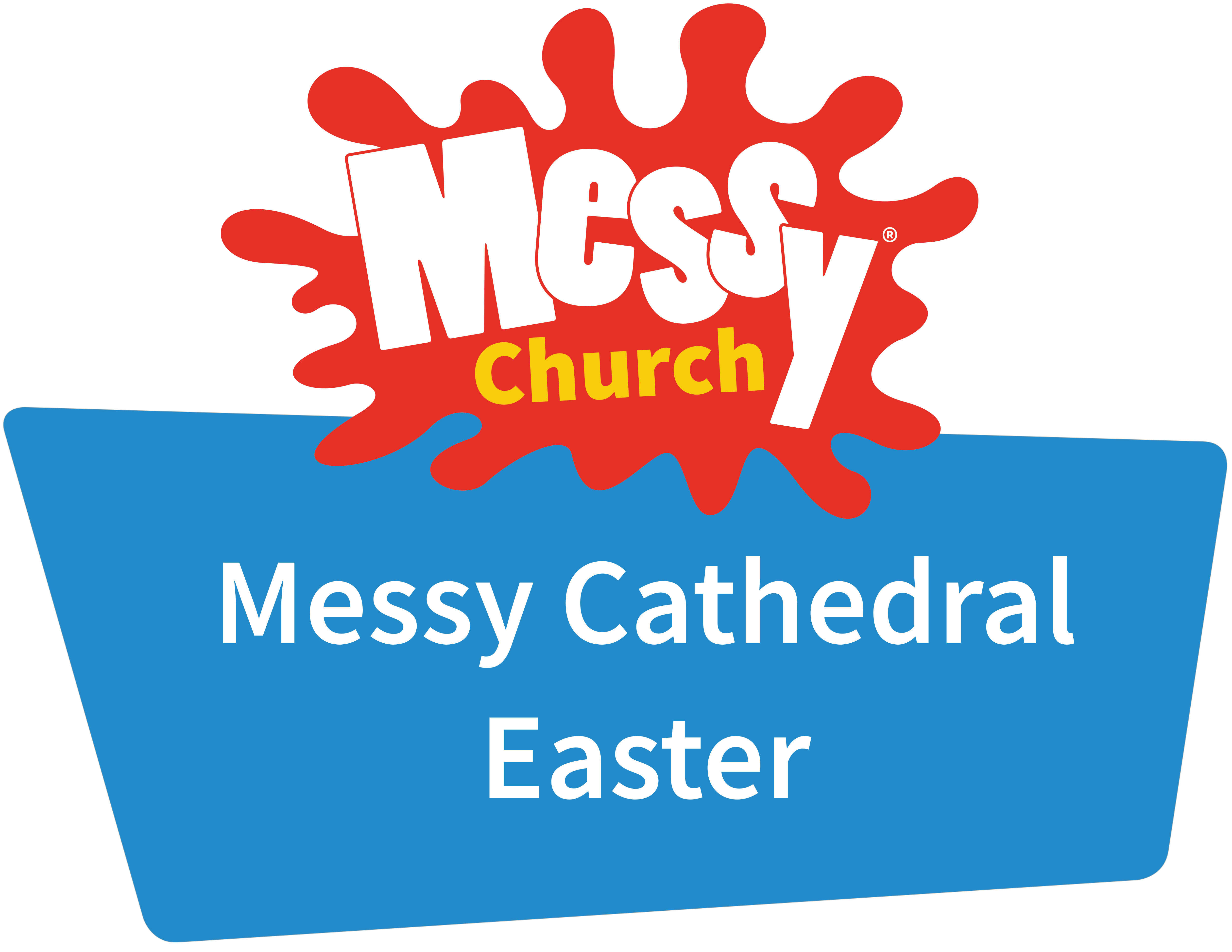 Messy Cathedral Easter