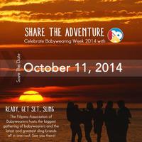Share the Adventure -- Babywearing Week 2014...