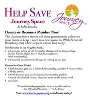 Help Save JourneySpace Art Auction & Pre-Holiday Sale