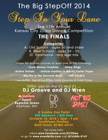 """The Big StepOff 2014 – """"Step in Your Lane"""" The 11th..."""