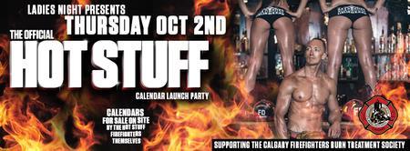 Hot Stuff Calendar Launch Party!
