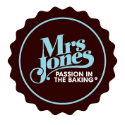 Mrs Jones - Passion in the Baking logo
