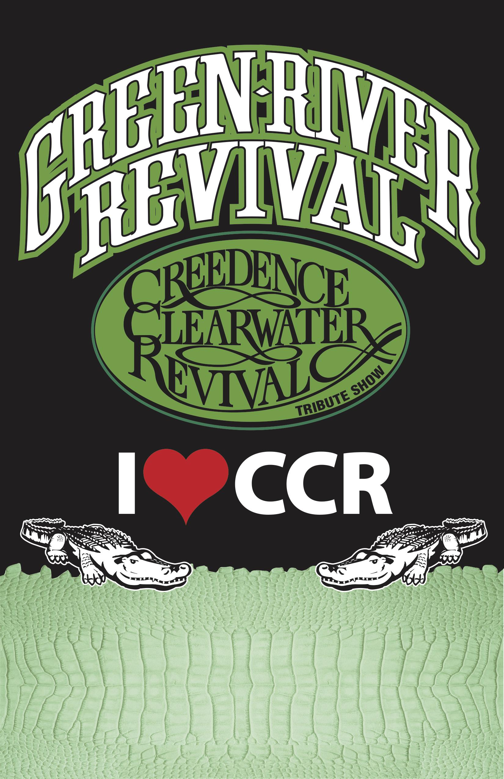 Rough Rider Lager : The Event Beer presents Green River Revival
