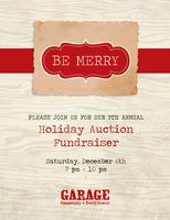 The 2014 Garage Holiday Auction