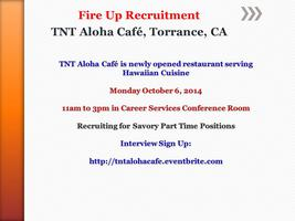 TNT Aloha Cafe, Torrance, CA