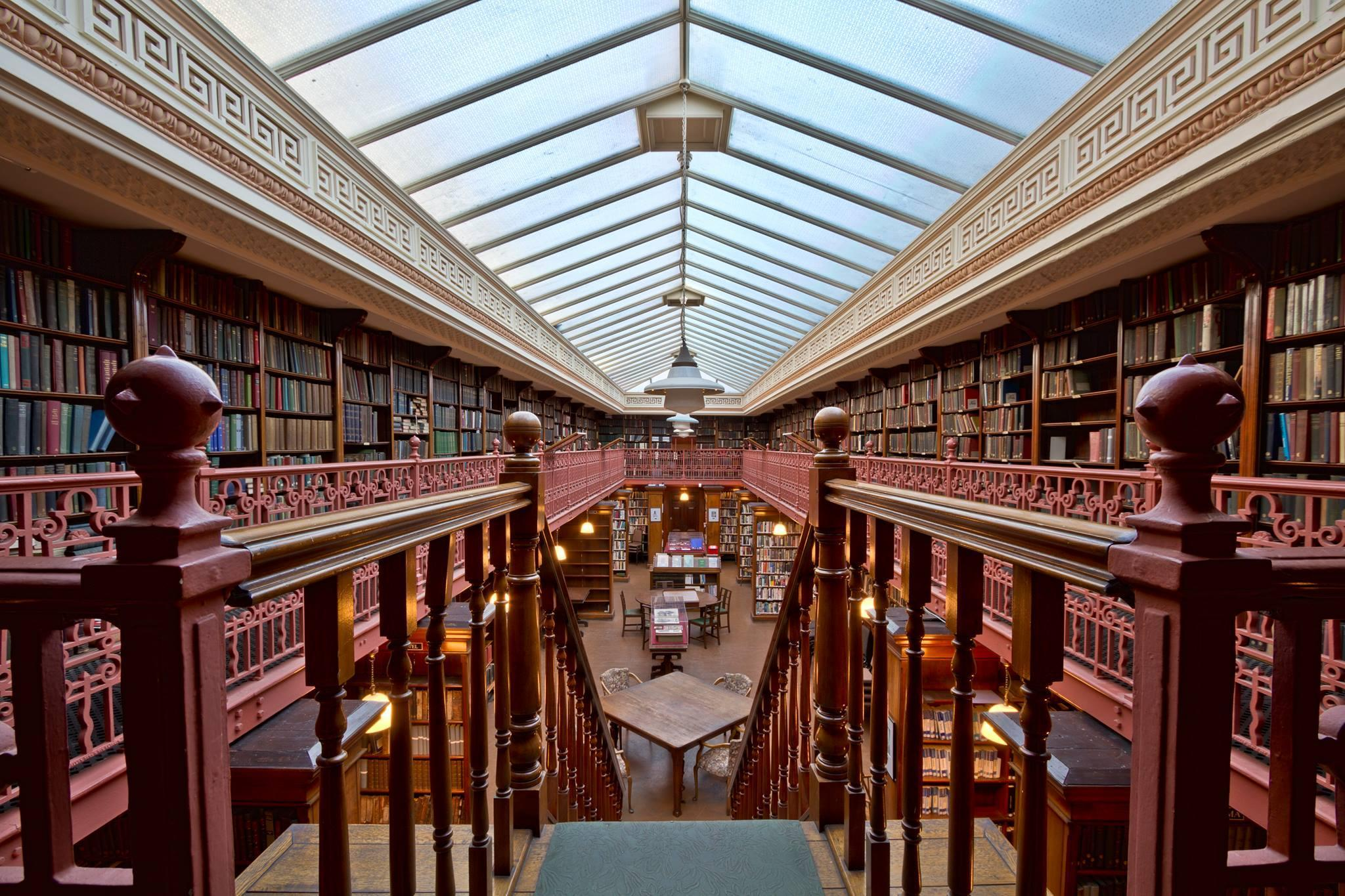 Tour of The Leeds Library