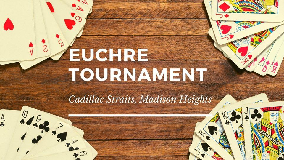 Euchre Night at Cadillac Straits, Madison Heights
