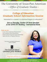 College of Education Graduate Information Session