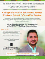 College of Social and Behavioral Sciences Graduate Info...
