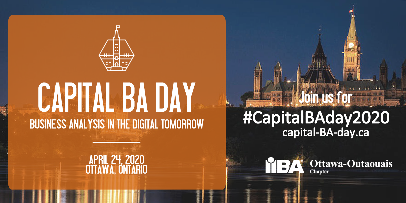 Capital BA Day 2020 | Business Analysis in the Digital Tomorrow