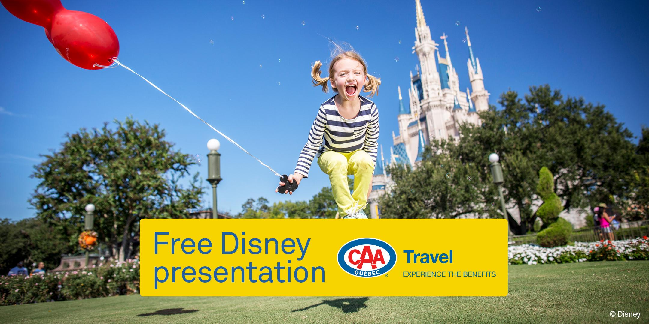 CAA-Quebec travel presentation in Pointe-Claire