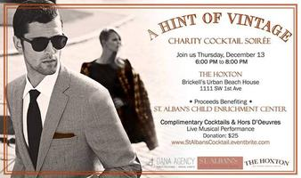 Charity Cocktail Soiree