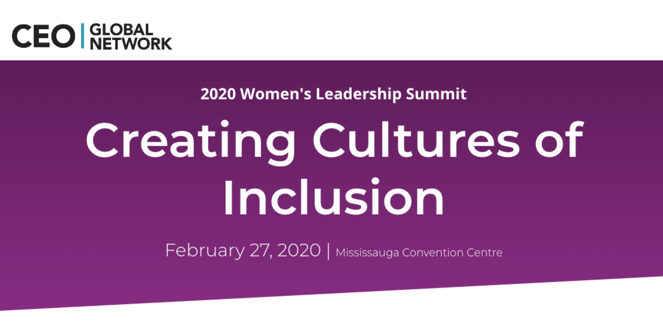 2020 Women's Leadership Summit: Creating Cultures of Inclusion