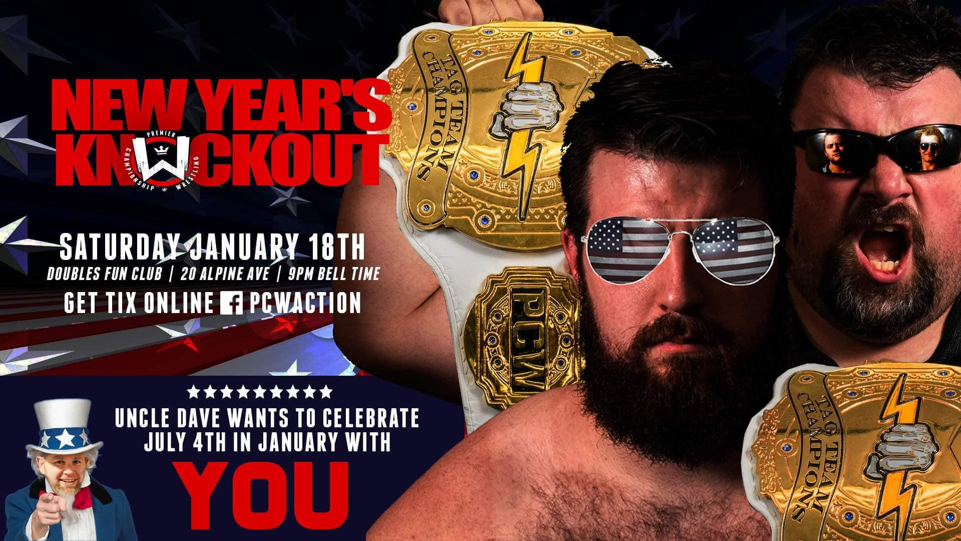 PCW's New Years Knockout!
