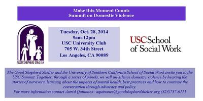 Make This Moment Count: Summit on Domestic Violence