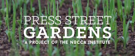 Press Street Gardens Workshop: Grow the Block