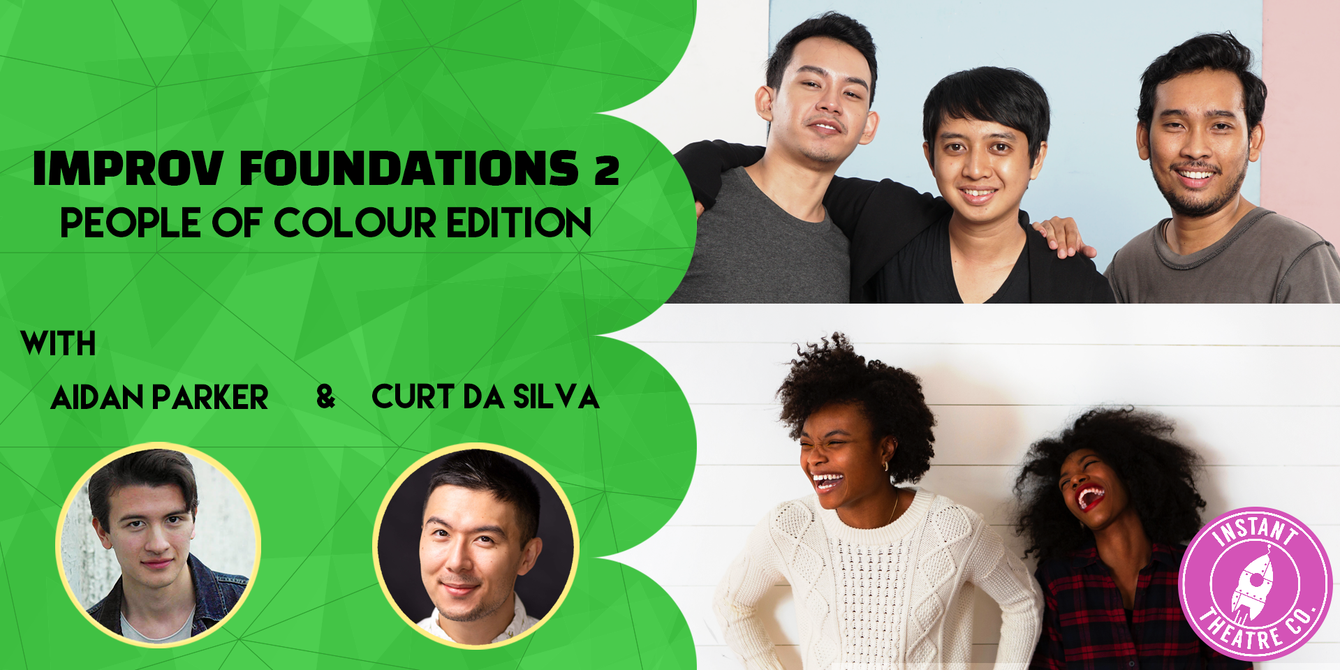 Improv Foundations 2 - People of Colour Edition