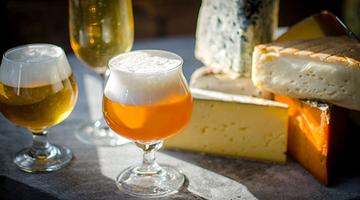 H&G and Antonelli's Cheese and Beer Pairing