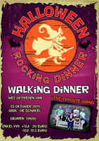 Halloween 'Rocking Dinner'