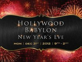 Hollywood Babylon New Years Eve at CHAYA Brasserie