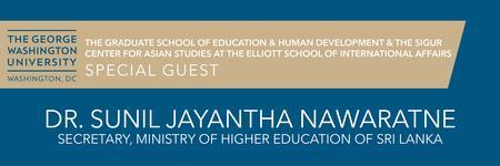 Special Guest: Dr. Sunil Jayantha Nawaratne (Sri Lanka)