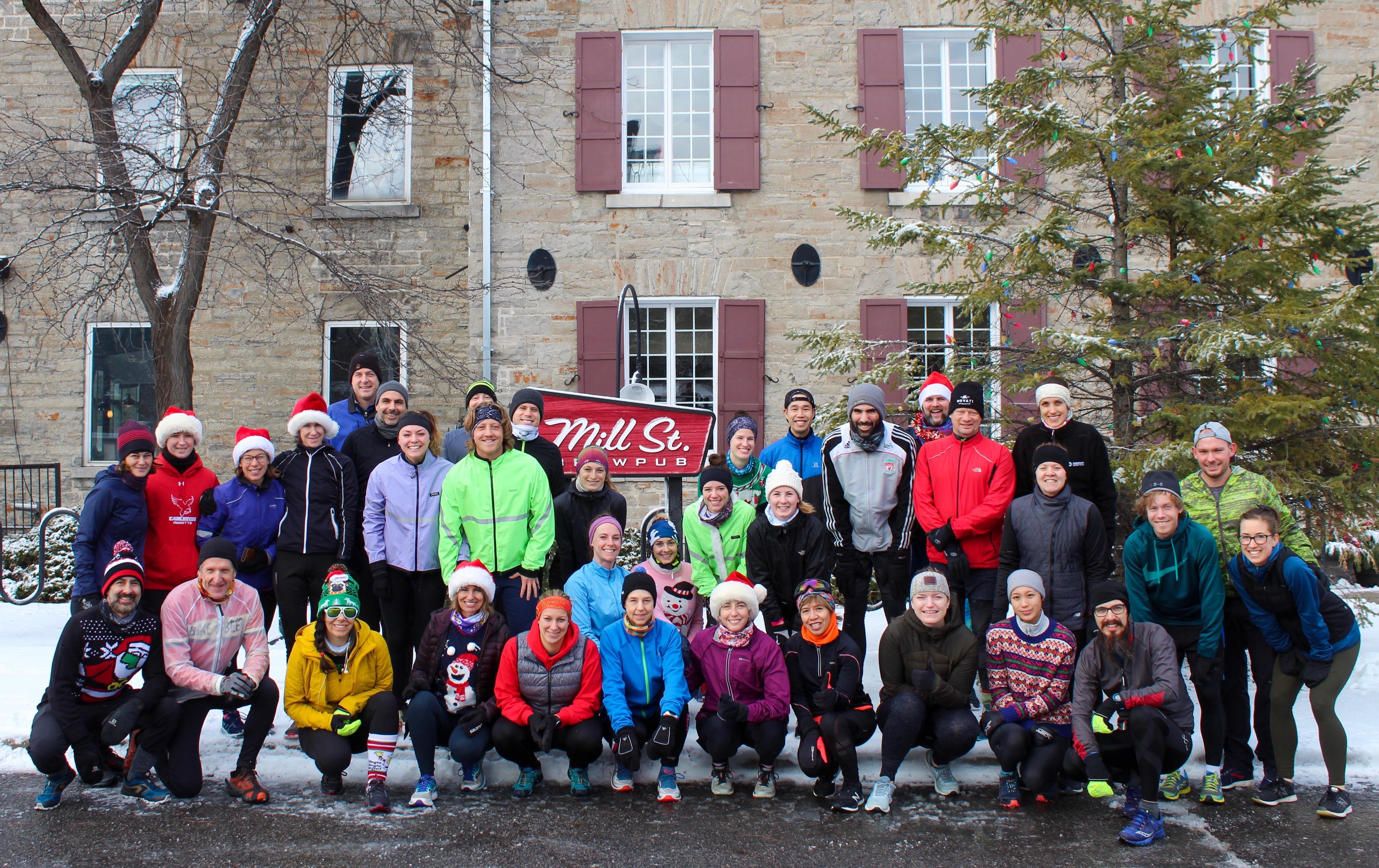 Mill Street Milers run club - the JanYOUary run