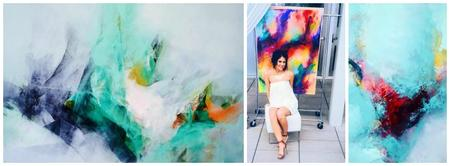 A Night of Art + Wine with Brittany Lee