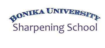 Georgia Sharpening School by Bonika Shears