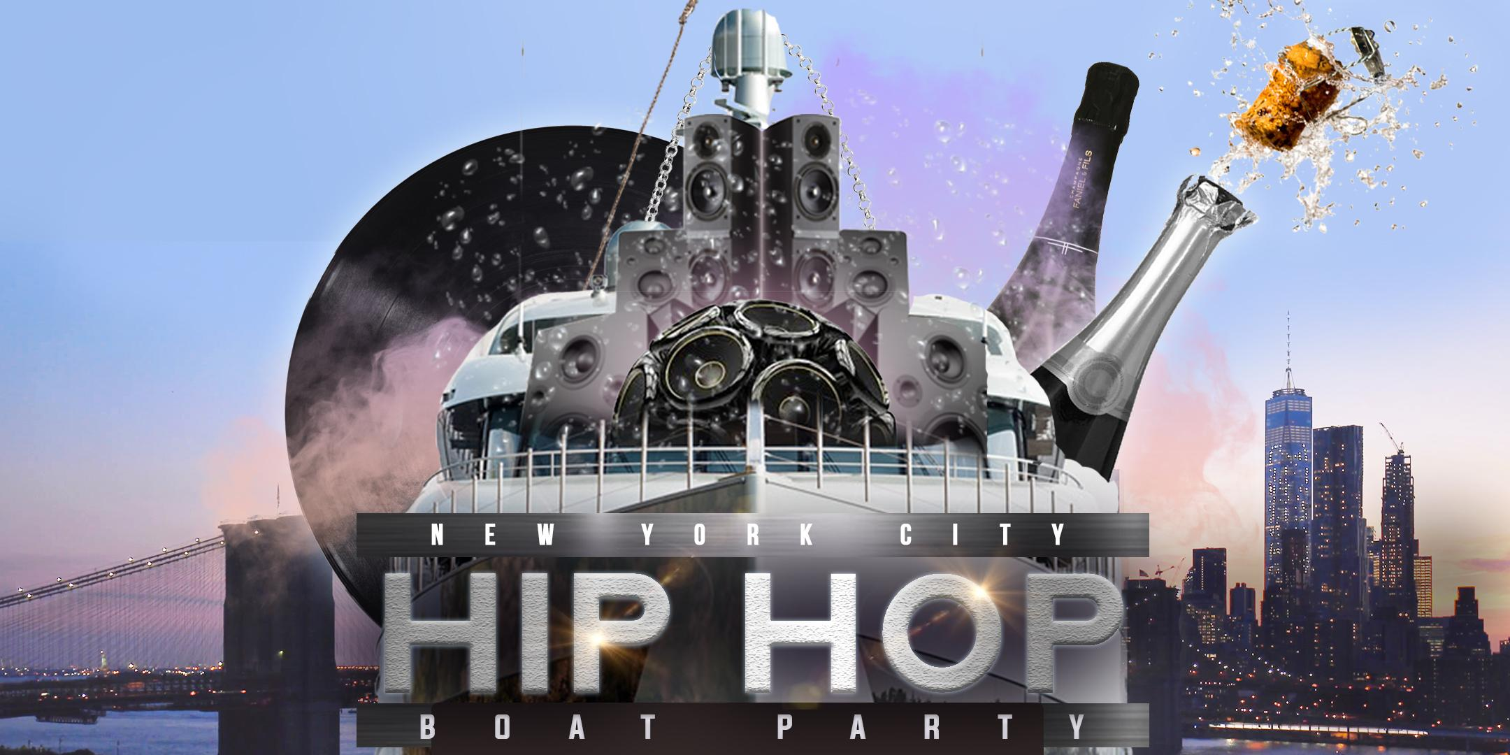 The #1 HIP HOP & R&B Boat Party NYC Yacht Cruise
