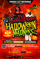 The Caribbean Halloween Madness + Dj Shakit Birthday...