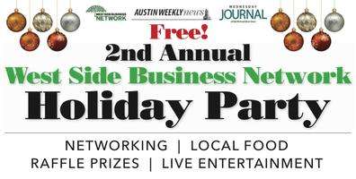 2nd Annual West Side Business Network Holiday Party...