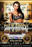 """SHE'S BOSSY"" FREE EXCLUSIVE LINGERIE PARTY"