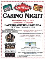 "Viva Las Vegas 2013 ""Casino Night"" @ Hayward City Hall..."