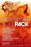 Soulnova & Wulfpack Present SOULPACK Friday October...