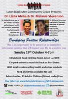 Luton Black Men Community Group - Dr Afrika & Dr...