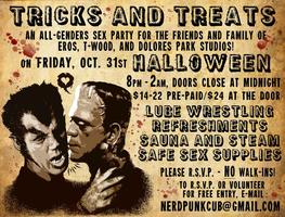 Tricks & Treats: All Gender Queer Party at EROS