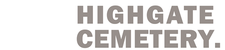 Highgate Cemetery West logo