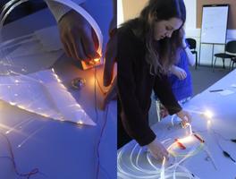 Crafting Light - Fibre Optic Wearables