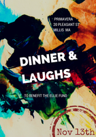 Dinner & Comedy Night to benefit the Ellie Fund
