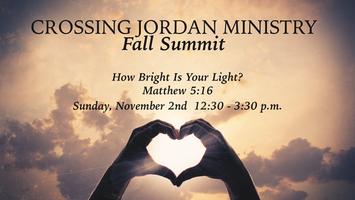 Crossing Jordan Fall Summit 2014