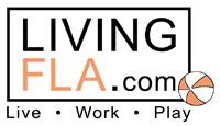LivingFLA.com Florida Events logo