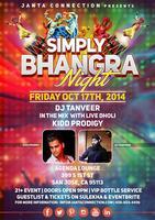 Simply Bhangra Night - Downtown San Jose