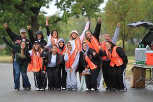 Volunteer - 2013 Prairie Fire Spring 1/2 Marathon Sunday...